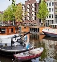 maison flottante Amsterdam