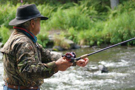 technique de pêche à la mouche